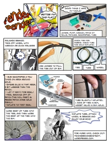 Fix-a-Flat Comic